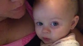 """Adorable Baby Sings """"I Love You"""" To Mom 