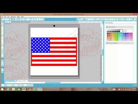 Creating A Shape With A Cuttable Background In Silhouette Studio