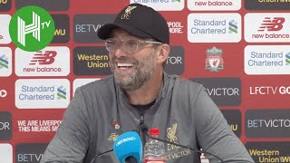 Liverpool 2-0 Fulham | Jurgen Klopp: I feel sorry for Fulham - they should stick with Jokanovic