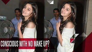 Shocking! Watch Alia Bhatt With No-Makeup Look | Bollywood News