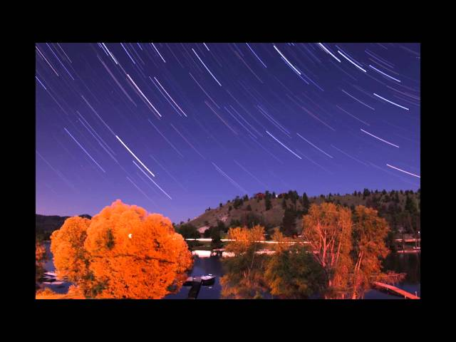 canyon ferry star trails