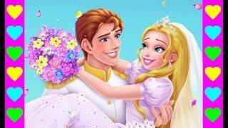 Принц и Принцесса с длинными волосами!  Серия 4! Мультики для девочек и мальчиков!