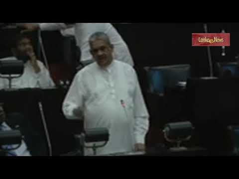 Sarath Fonseka  2018 Nov 27 in Parliament මාව අගමැති කරන්න බැරි ඇයි?
