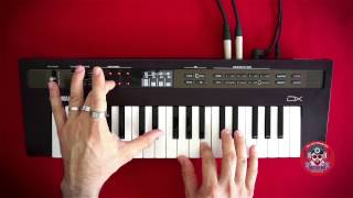 Yamaha Reface DX In Action