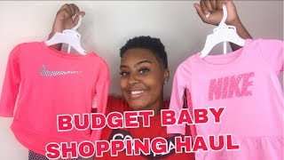 Budget Baby Clothes Shopping Clothing Haul! Nike, Calvin Klein, Juicy Couture & More!