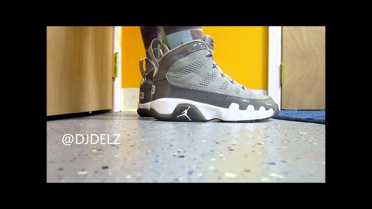 4f02fe5daf0fb3 Air Jordan Cool Grey 9 IX Sneaker Review + On Feet With  DjDelz ...