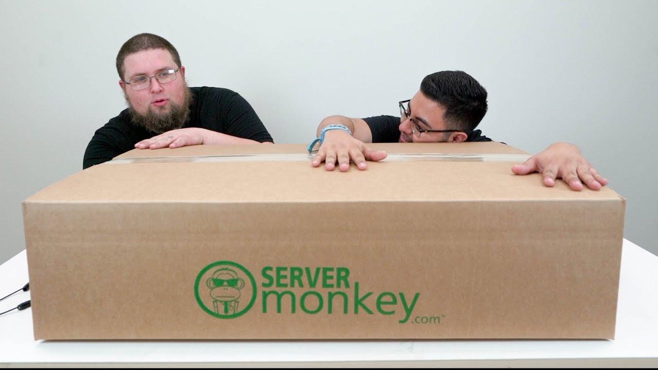 Buying Dell PowerEdge R630 Server & Unboxing - ServerMonkey vs  DELL