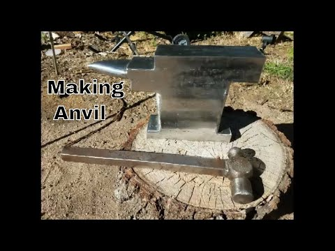 Making An Anvil From Bar Stock