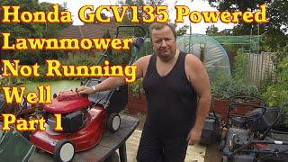 видео Двигатель Honda GCV 135