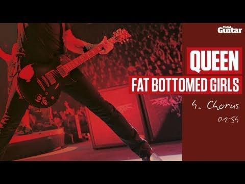 Guitar Lesson: Queen 'Fat Bottomed Girls' -- Part Four -- Chorus (TG216)