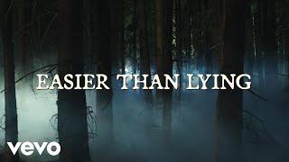 Halsey - Easier than Lying (Lyric Video)