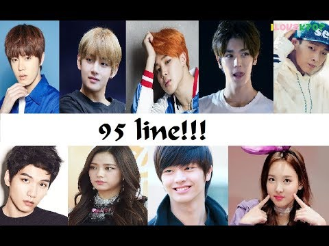 Idols nacidos en 1995 95 line