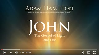 John 1st Session Video