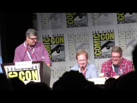 San Diego Comic Con 2015  Dave Willis doing the Meatwad voice