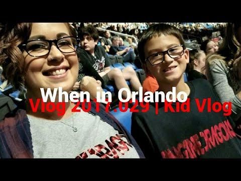 Vlog 2017.029 | Kid Vlog | When in Orlando | Imagine Dragons and Disney Springs