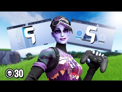 Ghost Ex Best Controller Settings + Dead zone to become pro! (Fortnite Best settings Ps4 + xbox)