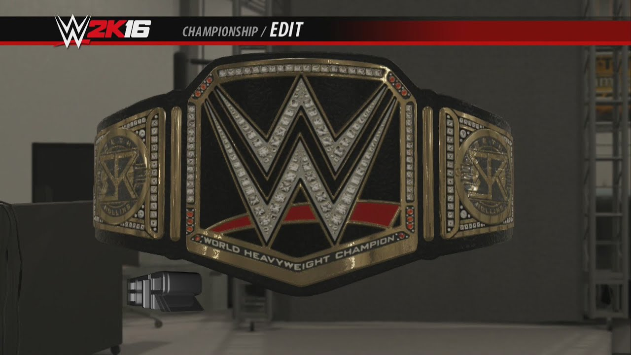 Wwe 2k16 Creations Custom Championship Seth Rollins Side