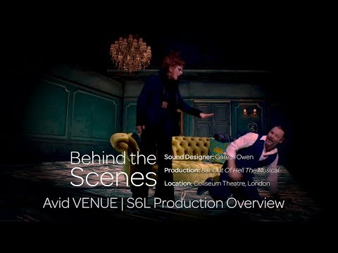 Sound Design for Bat Out of Hell The Musical with Gareth Owen: Production Overview