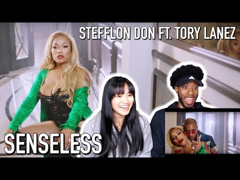 STEFFLON DON - SENSELESS REMIX FT. TORY LANEZ | MUSIC VIDEO REACTION