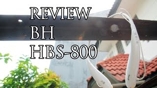 LG Tone Ultra HBS-800 Bluetooth Headset Review Indonesia
