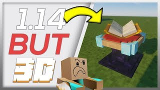 Top 2 3D Texture Packs Minecraft 1.14.x - 2 Best 3D Resource Packs by ARplayz