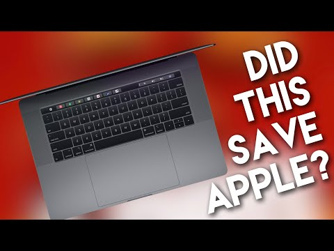 Apple Saved by 2018 MacBook Pro?