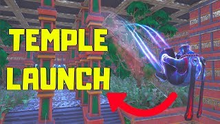 *NEW* CANON OBSTACLE COURSE - TEMPLE LAUNCH | Fortnite: Creative with Code