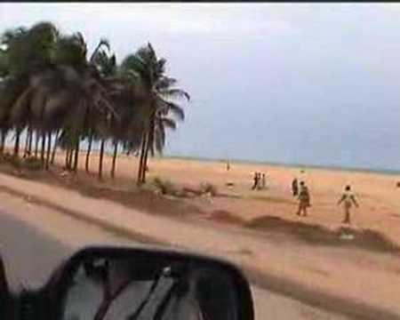 Togo Lome Beach Front A la plage Coast
