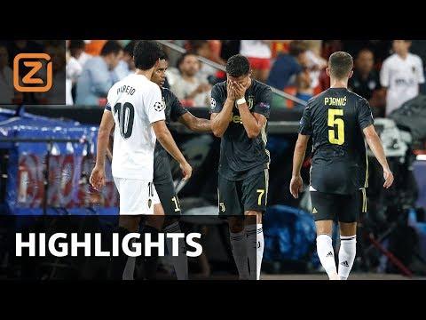 Samenvatting   Valencia - Juventus   19/09/2018