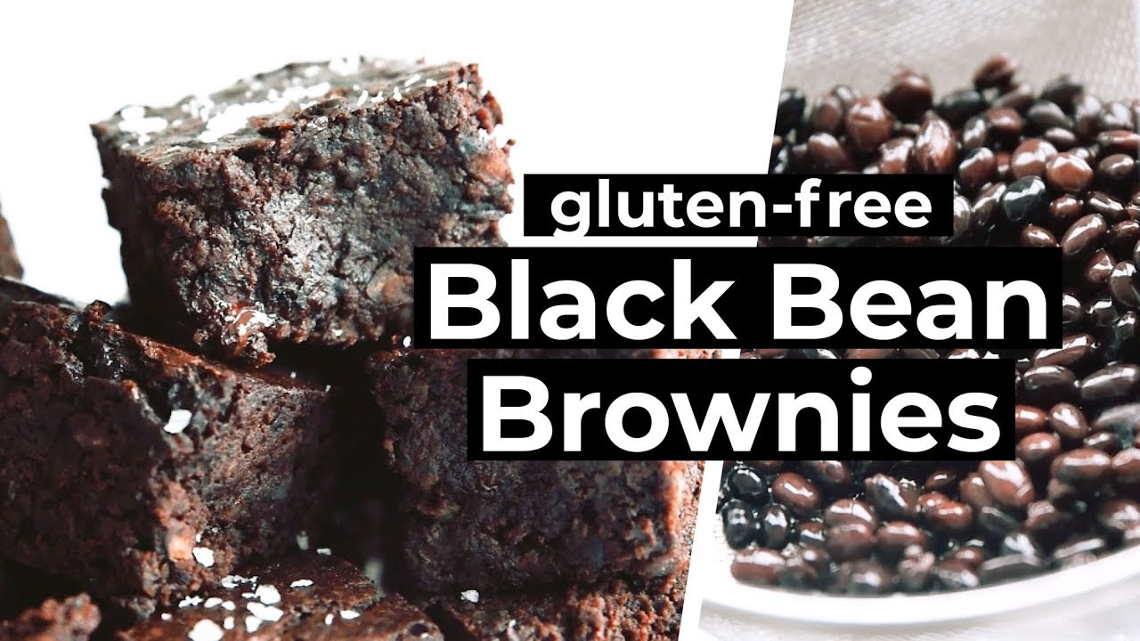 Fudgy Gluten Free Black Bean Brownies Youtube