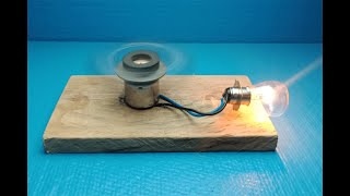 Electric Science Free Energy Using Magnet With Light Bulb 2019