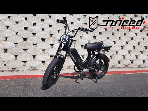 Hands on the new Scorpion E-Bike by Juiced bikes