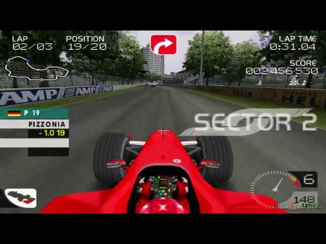 Formula One 2003 - Gameplay PS2 HD 720P