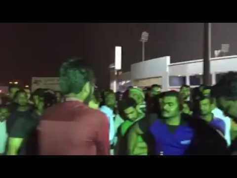 International laboursday Arm wrestling final 2016 between yaas Qatar vs Mr gym