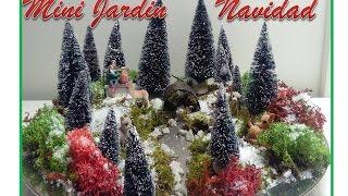 diy ideas mini jardin navideo para decorar tu casa en navidad