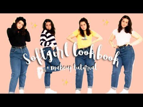 SOFTGIRL LOOKBOOK //+Makeup tutorial