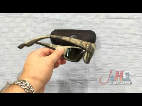 459dcc316 Costa Del Mar Fantail 580G Camo Frame Blue Mirror Lenses Sunglasses | J&H  Tackle - YouTube