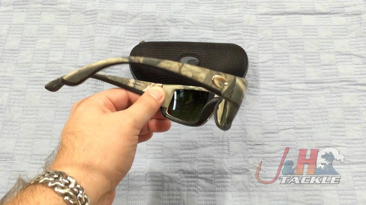 7021f521c7d8 Costa Del Mar Fantail 580G Camo Frame Blue Mirror Lenses Sunglasses   J&H  Tackle