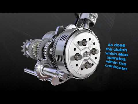 4-Stroke Motor Cycle Animation