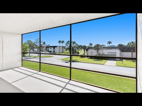 2775 N. Wickham #204 Melbourne, FL  32935 | Condominium For Sale | Harbor Green | Video Tour
