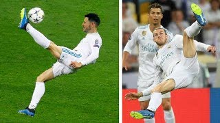 SCORING GARETH BALE'S INCREDIBLE BICYCLE KICK GOAL!!! UCL FINAL | Real Madrid vs Liverpool