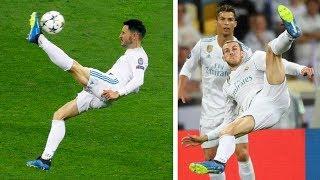 Video SCORING GARETH BALE'S INCREDIBLE BICYCLE KICK GOAL!!! UCL FINAL | Real Madrid vs Liverpool download MP3, 3GP, MP4, WEBM, AVI, FLV Agustus 2018