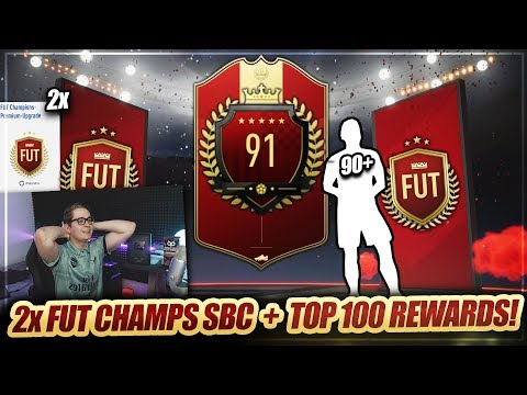 FIFA 19: OMG 90+ IM 86+ FUT CHAMPIONS PREMIUM UPGRADE SBC PICK!! TOP 100 REWARDS PACK OPENING 🔥🔥
