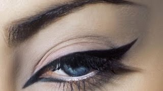 Макияж глаз – как научиться рисовать стрелки карандашом
