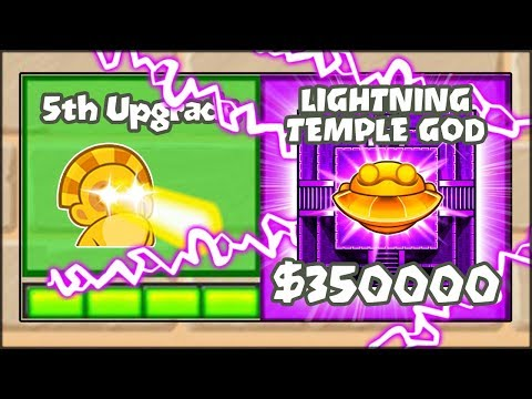 5TH TIER UPGRADES MOD - THE LIGHTNING TEMPLE OF THE GOD | Bloons TD Battles Hack/Mod (BTD Battles