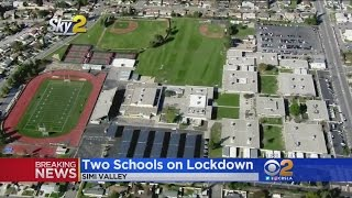 Person With Gun Prompts Lockdown On 2 Simi Valley Schools