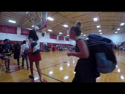 2019 Horton vs Pollard Middle School Boys Basketball Championship Game - 1st Half