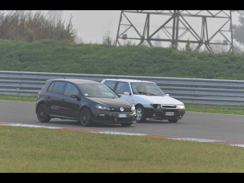 Uno Turbo vs Audi Rs6 - Track Day Cremona Circuit