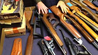 Northwest Airguns Buys an Airgun Collection!!!  Part VIII  show n parts guns