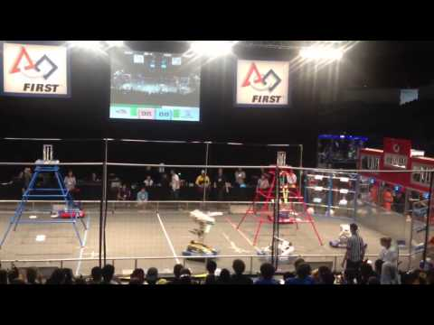 FIRST Robotics San Diego Regional 2013 Match F1